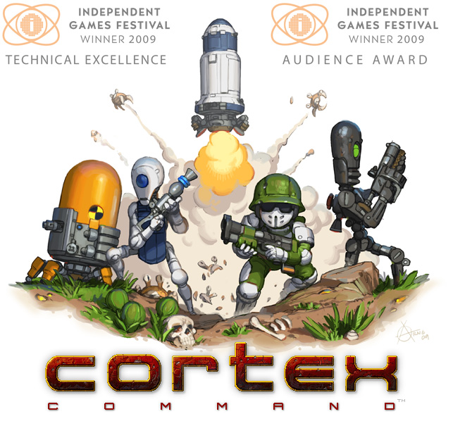 Cortex Command (STEAM / WORLDWIDE / REGION FREE)