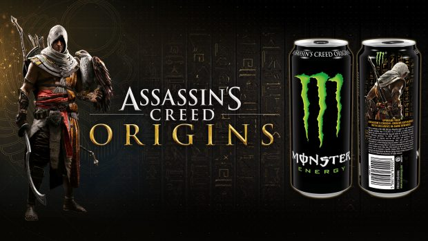 Assassin's Creed Origins Monster Energy code(PC/PS4/X1)