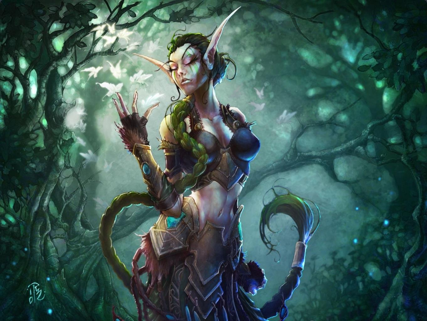 Warcraft 3 girls picture exploited movie