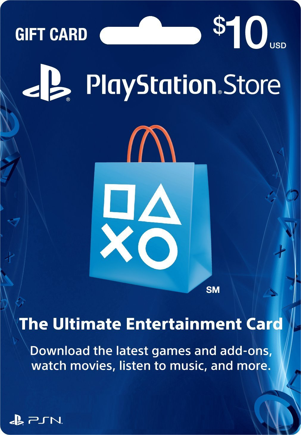 PSN Gift Card Code USA $ 10 for the PS4, PS3, PS Vita