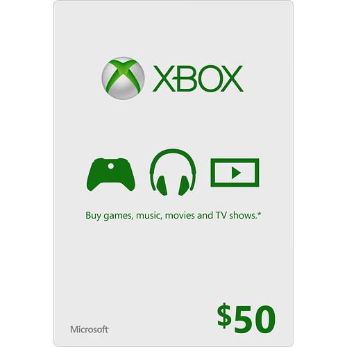 Xbox Live Gift Card USA $ 50 (code from card) + DISCOUN