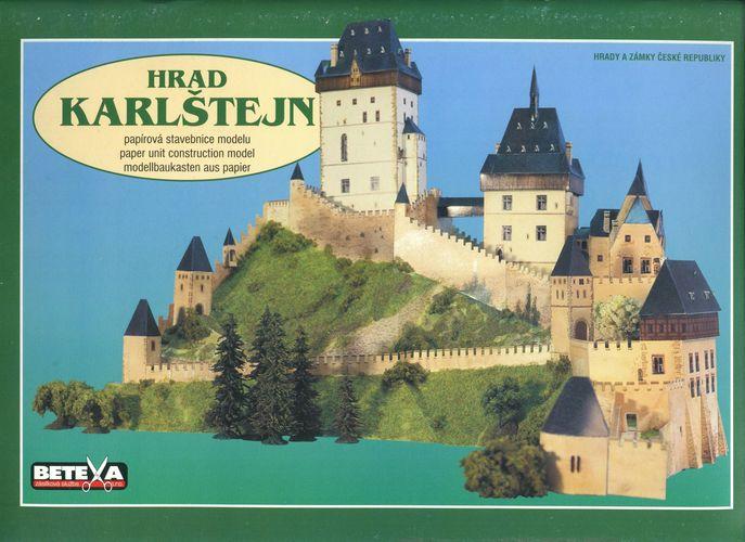 Замок Карлштайн (Castle Karlstein) - Модель для сборки