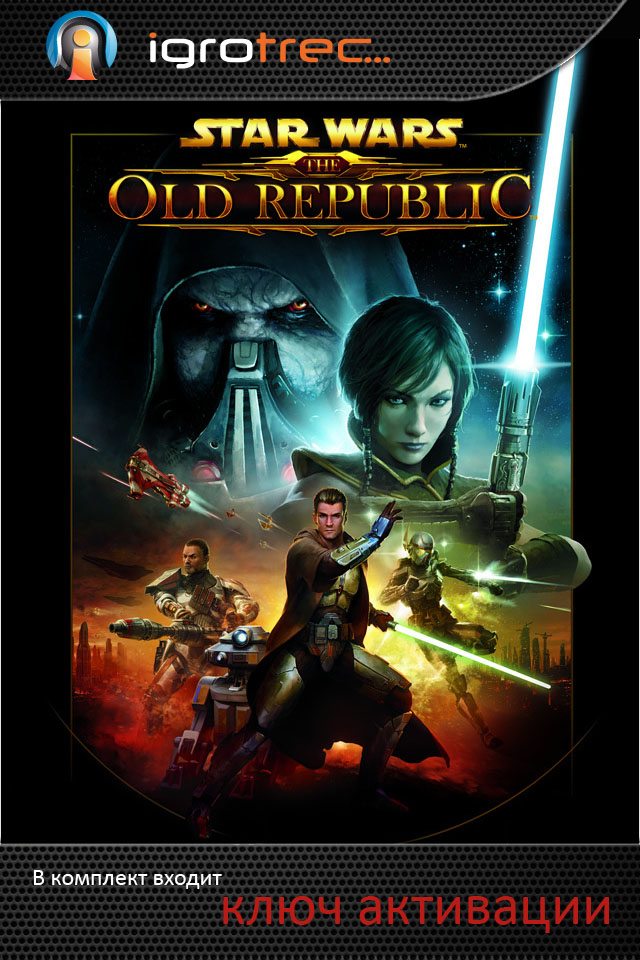 Star Wars The Old Republic CD-Key + 30 days free.