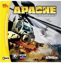 Apache Air Assault | ЛИЦЕНЗИЯ от 1С | СКАН Диска