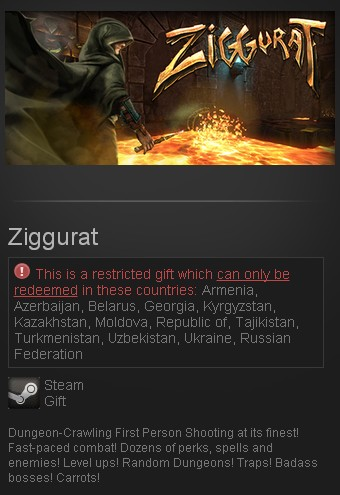 Ziggurat (Steam Gift/RU CIS)