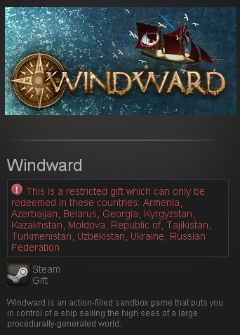 Windward (Steam Gift/RU CIS)