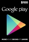 Google Play Gift Card 100 USD USA-region
