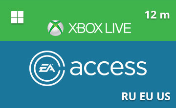 Xbox One EA Access 12 m RU/EU/US
