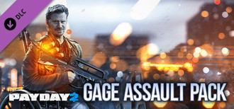 PAYDAY 2: Gage Assault Pack - Steam Gift