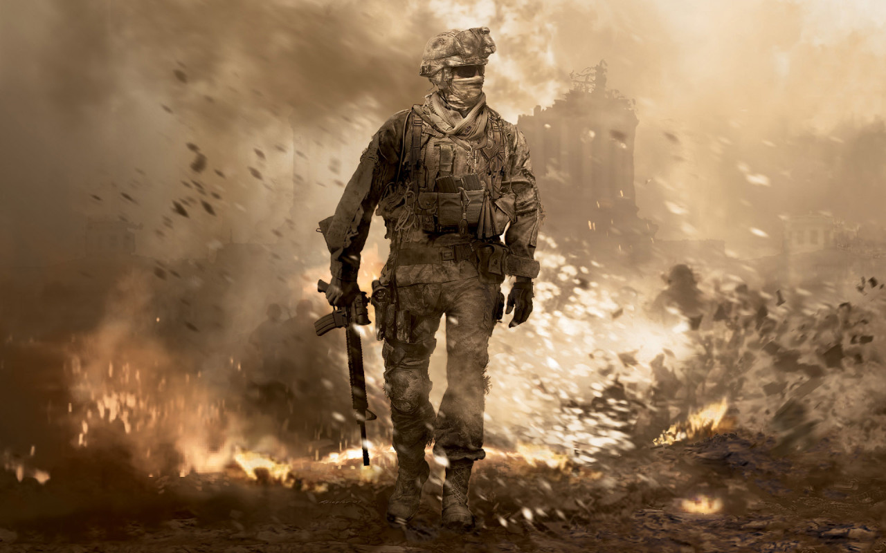 Call of Duty:MODERN WARFARE 2 + ПОДАРОК
