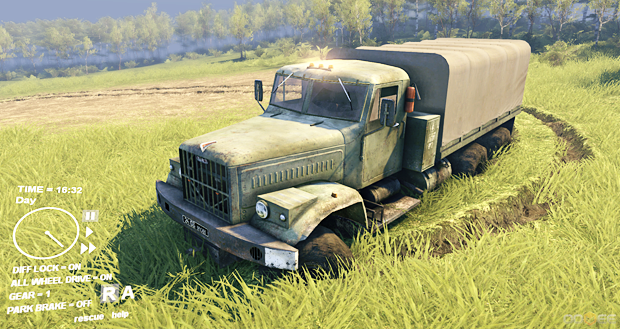 SPINTIRES ( Steam Gift / RU + CIS )