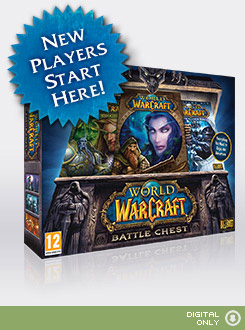 WoW CD KEY Battle Chest EU EURO + 30 дней + DRAENOR