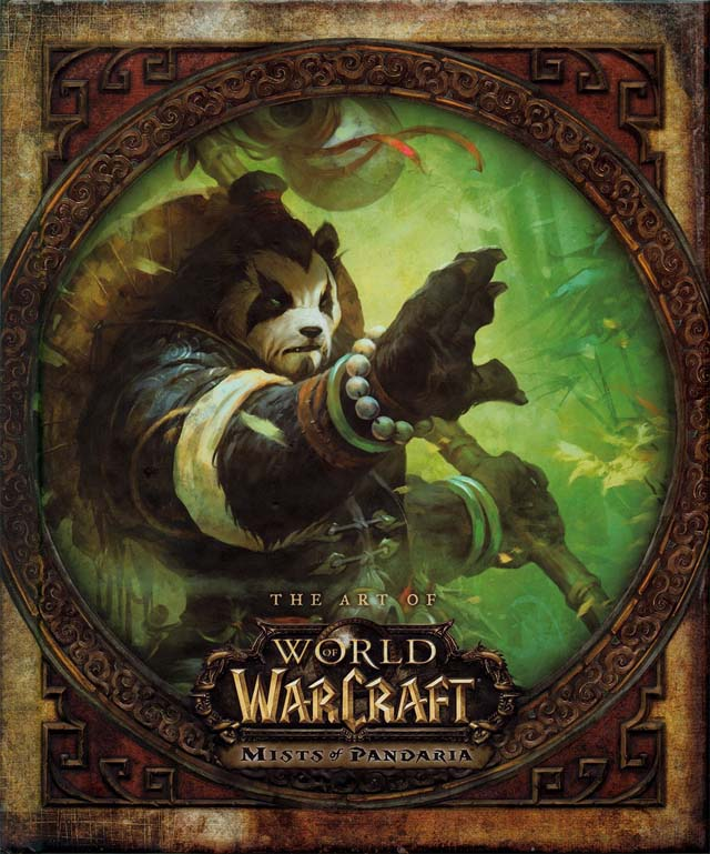 The Art Of World Of Warcraft Mists of Pandaria Art Book