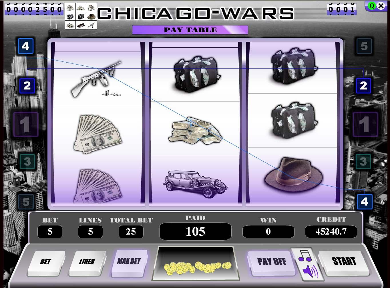 Chicago slot machine online free