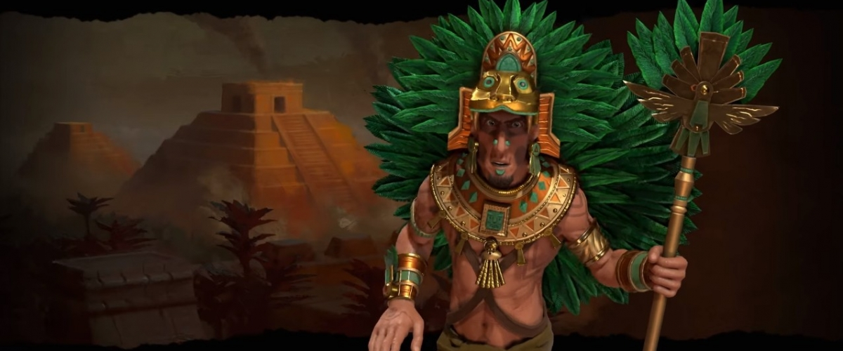 CIVILIZATION VI: DLC Aztec (CD-KEY) scan