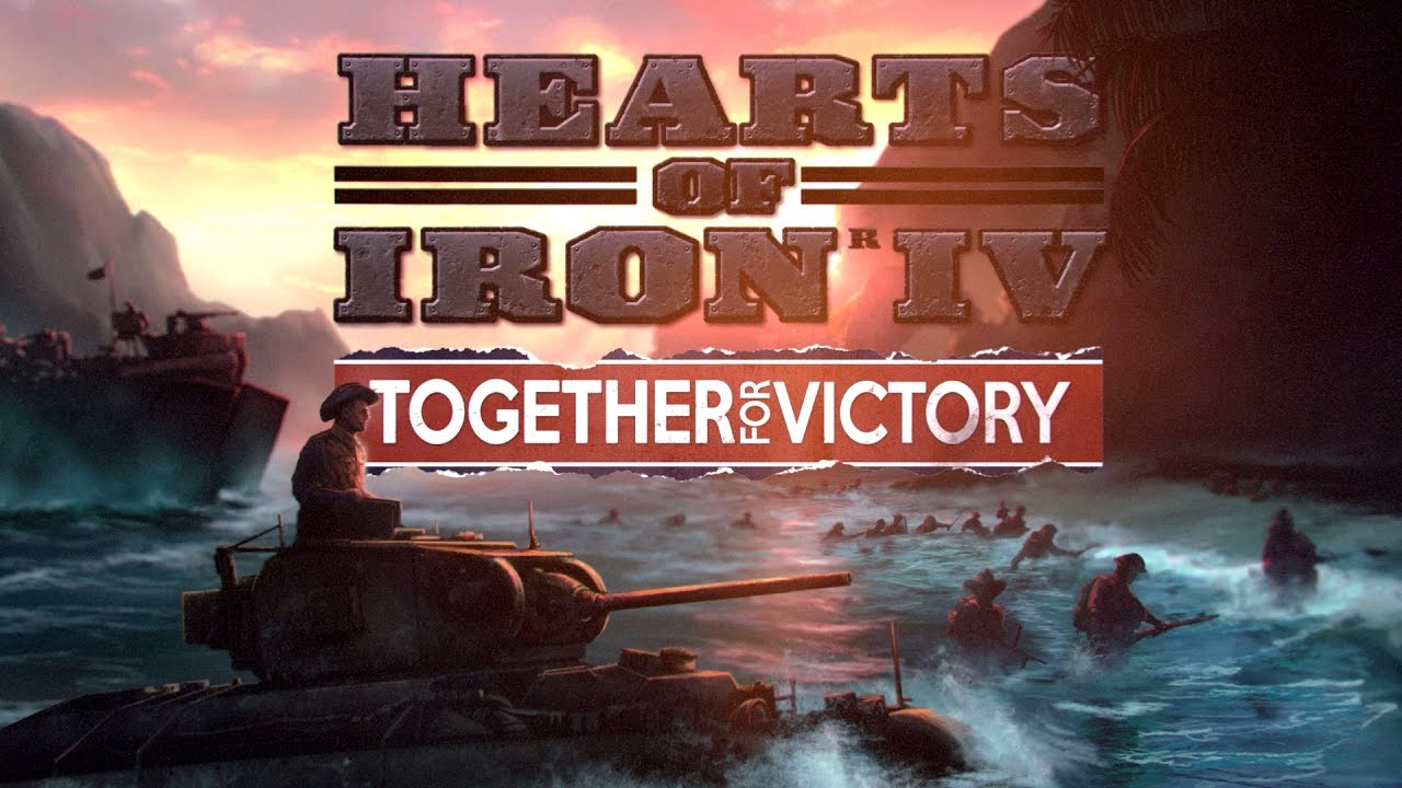 Hearts of Iron IV: Together For Victory (Steam key|DLC)