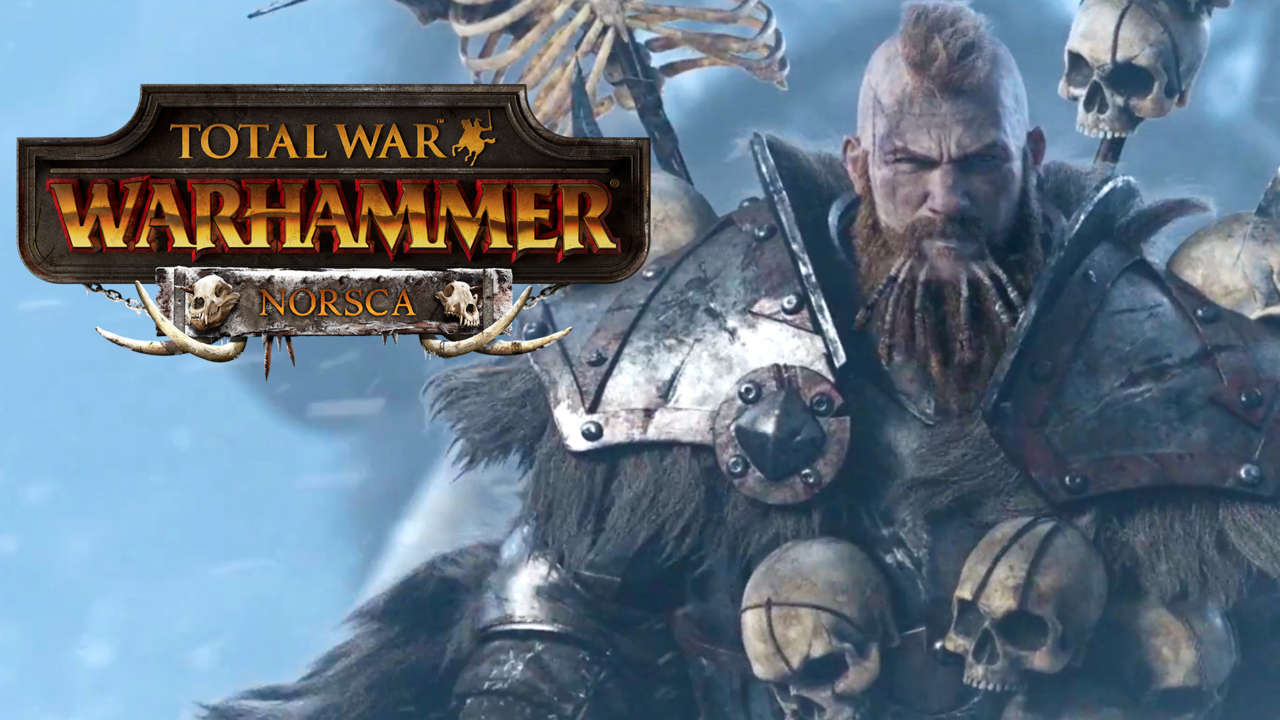 Total War: WARHAMMER – Норска Norsca DLC (Steam)