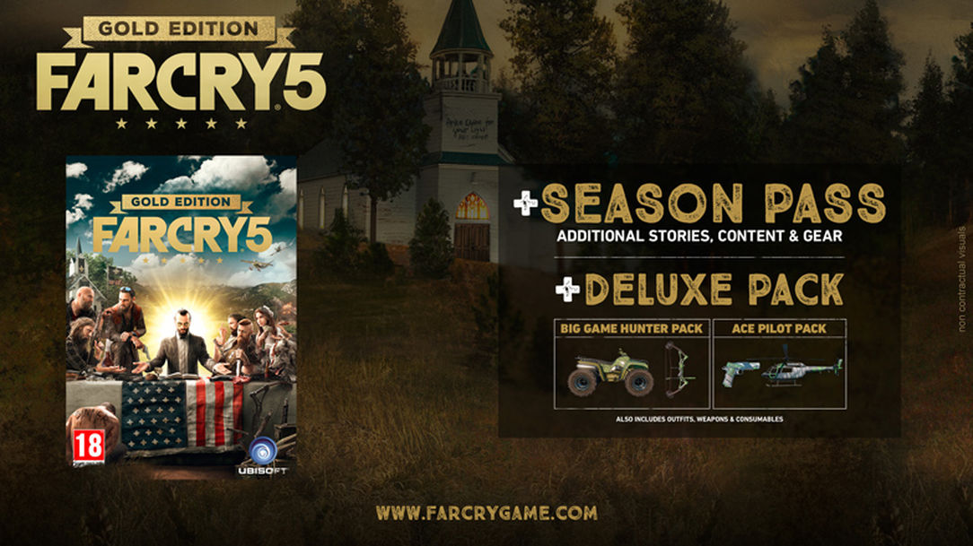 Far Cry 5:Gold Edition with Preorder Bonus (UPLAY)