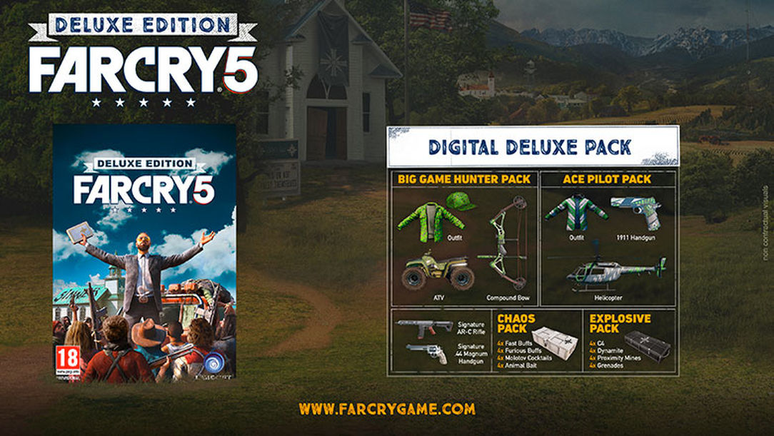FAR CRY 5 DELUXE EDITION and Preorder Bonus (UPLAY)