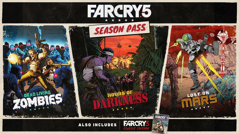 Far Cry 5 - Season Pass UPLAY Wholesale price