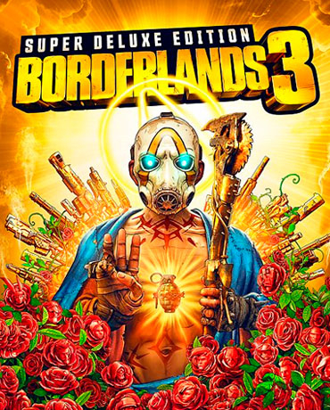 Borderlands 3 Super Deluxe+Season Pass Официальный Ключ