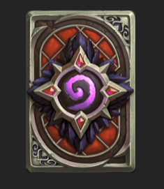 Hearthstone hero Medivh  + Card Back Medivh EU   RU