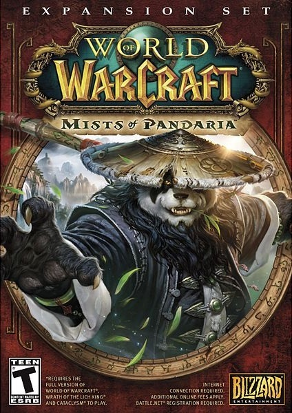 WoW MISTS OF PANDARIA US CD KEY USA ключ сразу