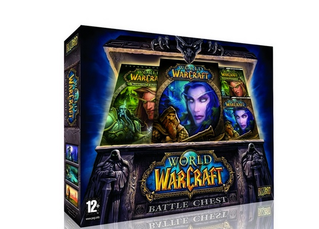 WOW WORLD OF WARCRAFT RU BATTLE CHEST+30 дней