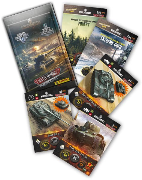 World of Tanks - Earth Rumble - 1 Random card (RU)