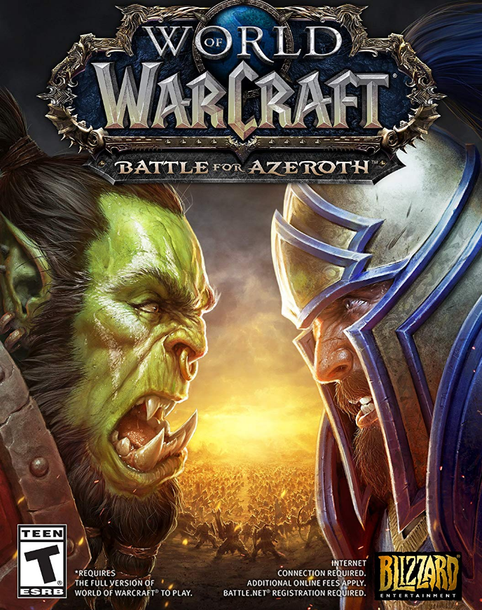 World of Warcraft - Battle for Azeroth (RU) + 110 level