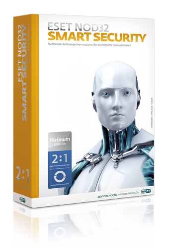 ESET NOD32 Smart Security на 2 года на 3 ПК