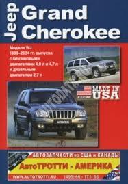 Jeep Grand Cherokee, модель WJ