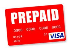 105 $ VISA virtual / prepaid for calculations on the In