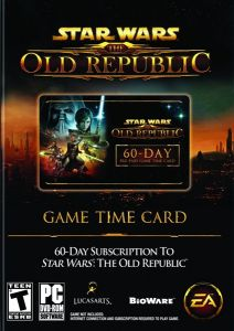 Star Wars: The Old Republic - Time Card 60 days (Карта)