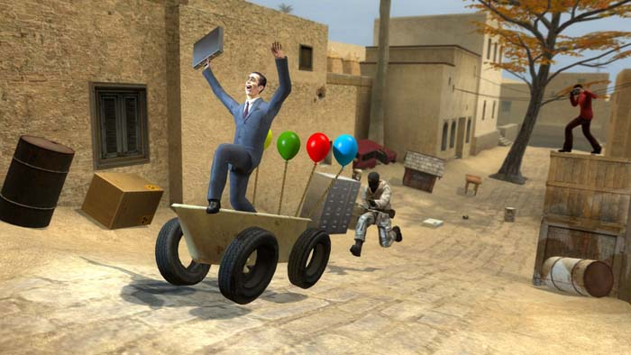 Counter-Strike: Source + Garrys Mod (SteaM Gift)