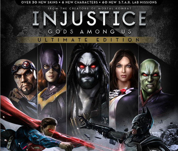 Injustice Gods Among Us Ultimate Edition(Steam аккаунт)