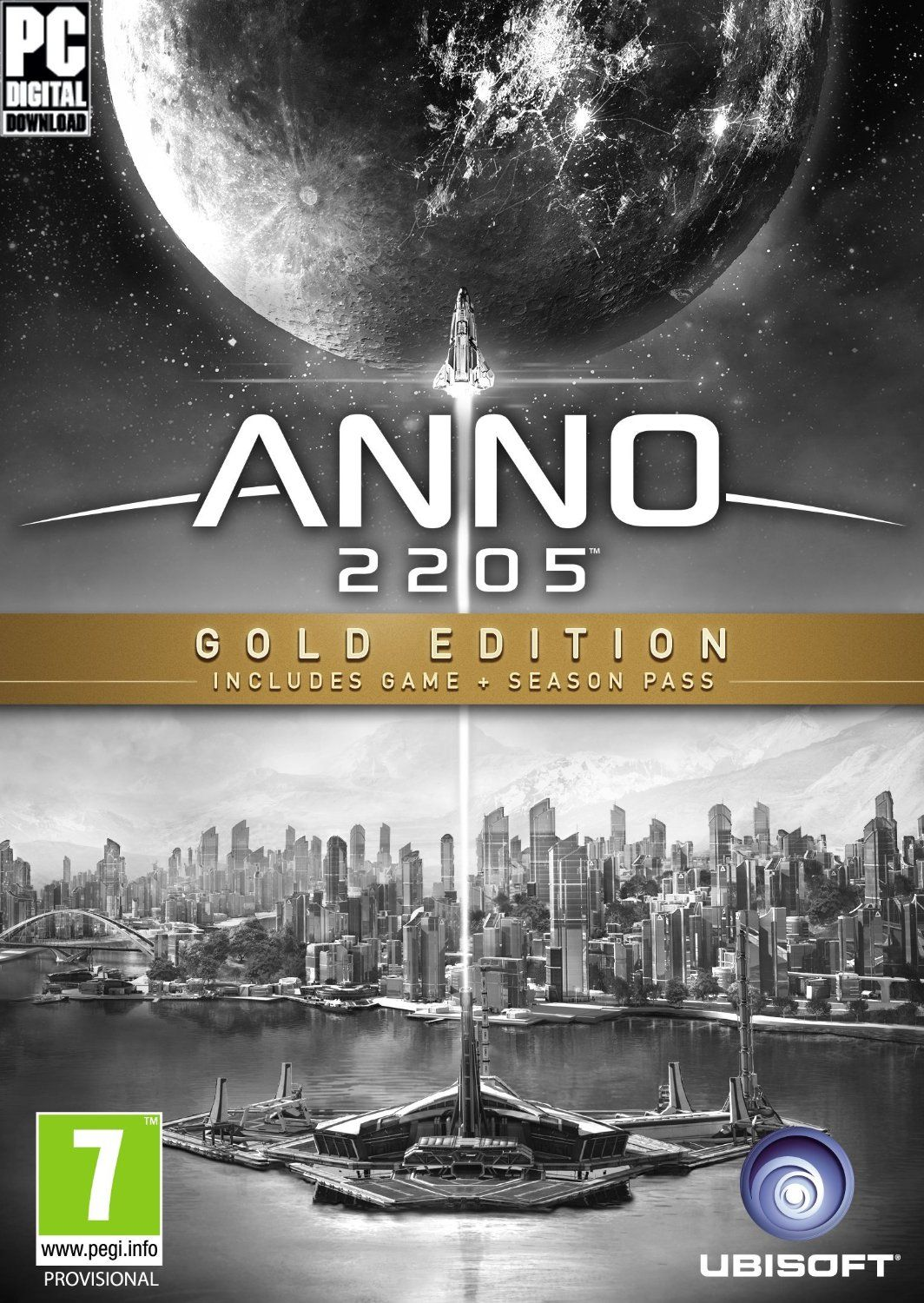 Anno 2205 Gold Edition (Uplay) +S.Pass +DLC +Artbook