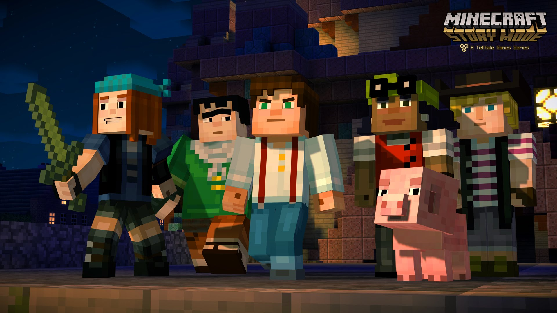 Minecraft:Story Mode (НЕ Steam/Telltale Region Free)