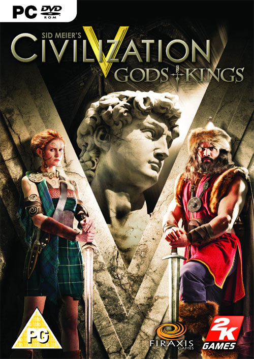 Civilization V 5: Gods and Kings (Steam/Region Free)