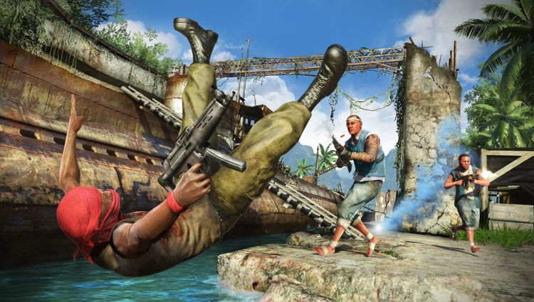 Far cry 3 deluxe edition [god/freeboot/dlc/russound] » игры на.