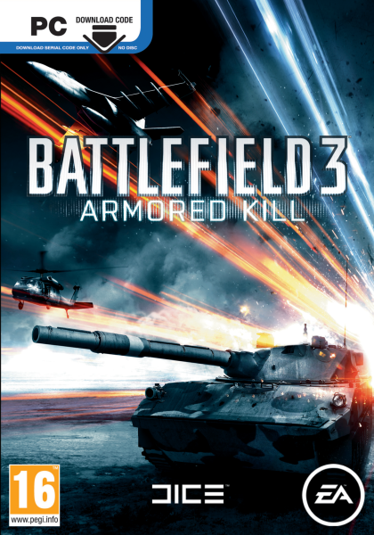 DLC - Battlefield 3: Armored Kill (Region Free/Origin)