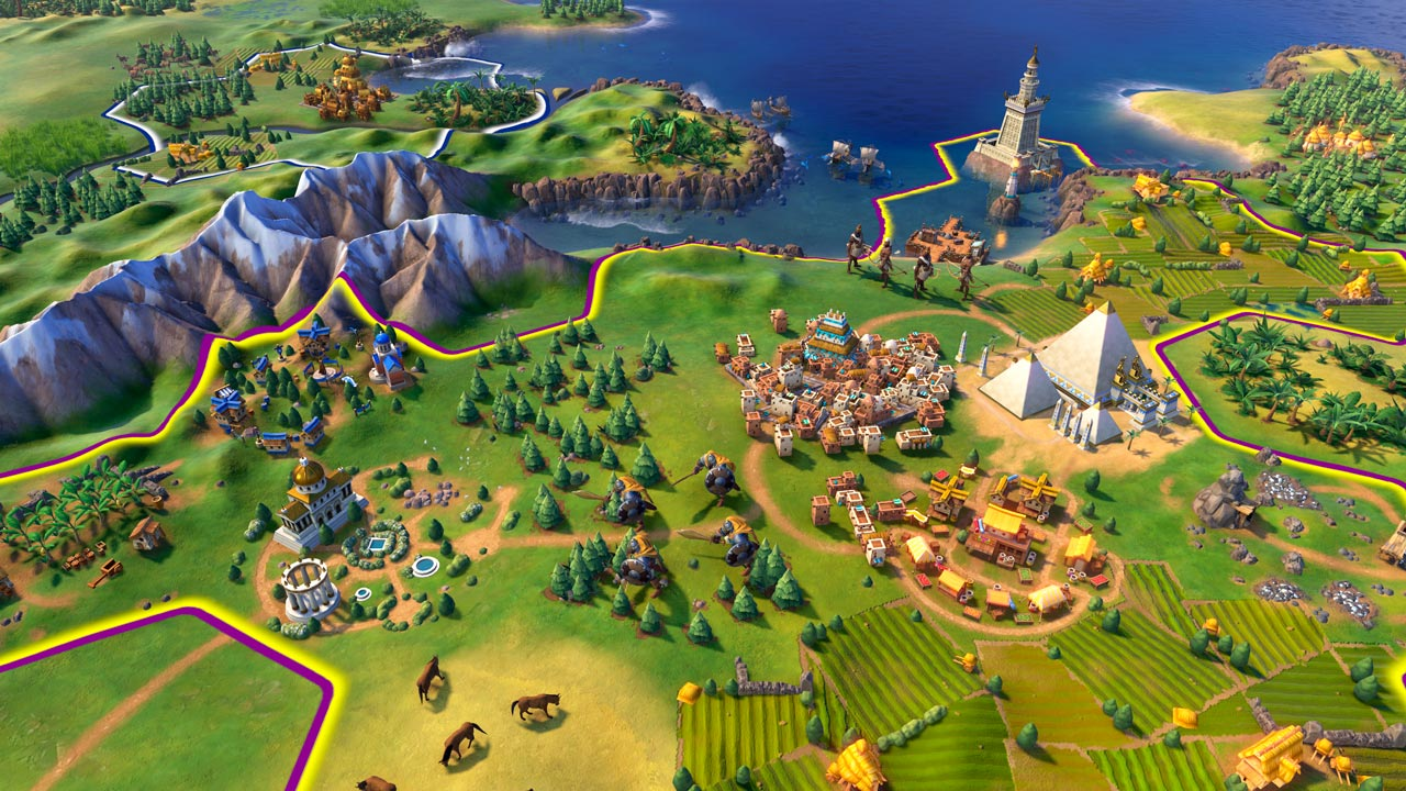 Civilization VI 6 Digital Deluxe Ed.(Steam KEY) +S.Pass