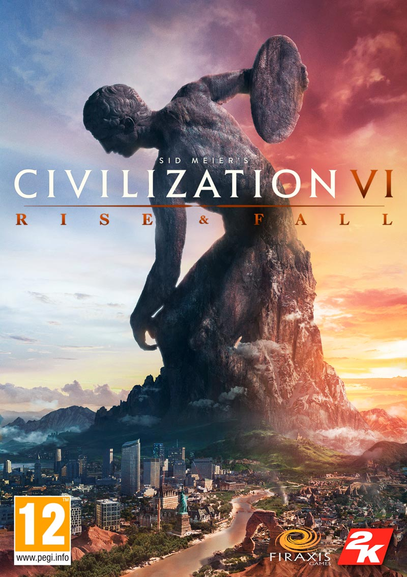 DLC - Civilization VI:Rise and Fall (Steam/RU&CIS)