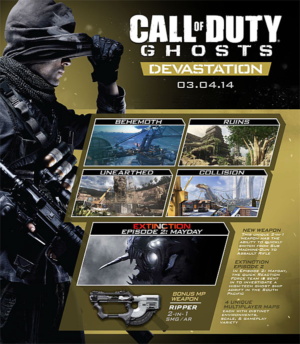 Call of Duty: Ghosts - Devastation (DLC 2) +ПОДАРОК