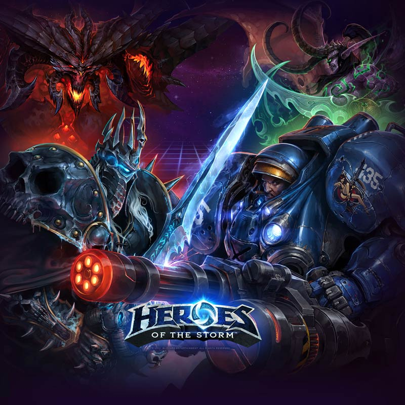 Heroes of the Storm (Starter Pack) +5Heroes +Транспорт
