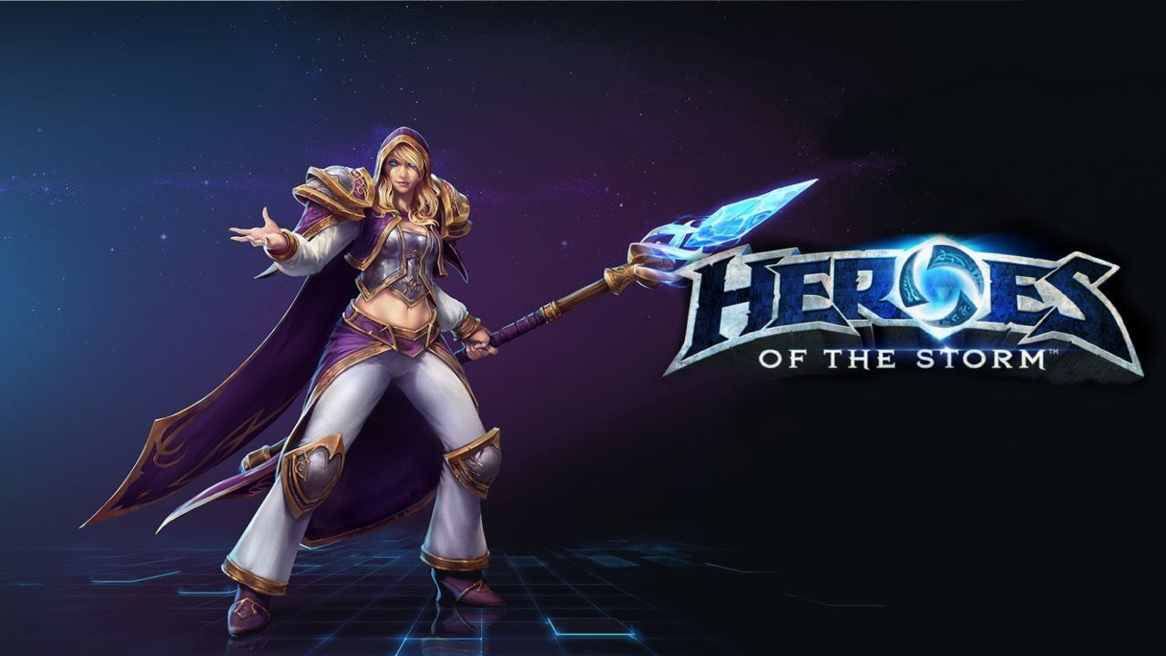 HERO (Heroes Of The Storm)- Jaina/Джайна Region Free