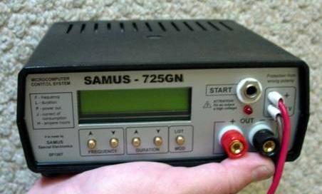 Схема и прошивка электролова SAMUS - 725 - GN