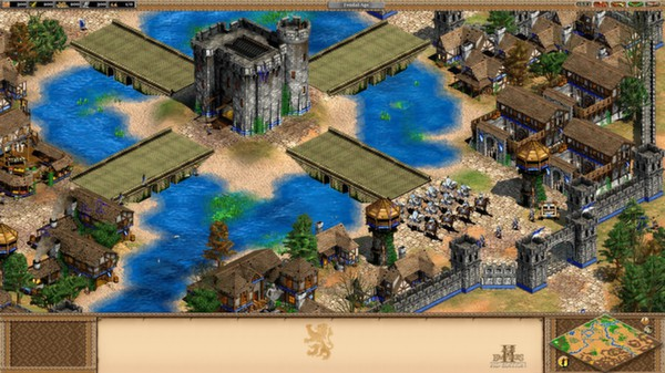 Age of Empires II HD + The Forgotten Expansion Gift ROW