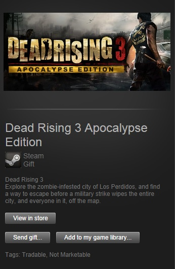 Dead Rising 3 Apocalypse Steam Gift | Region Free