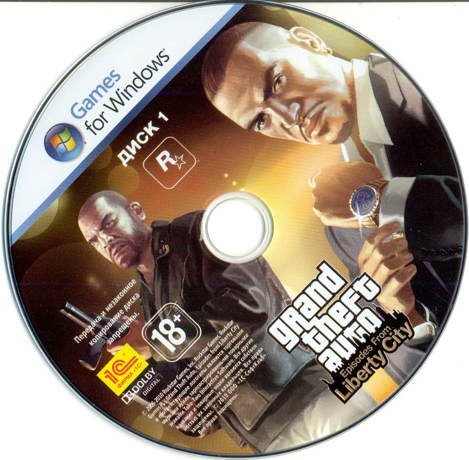Grand Theft Auto: Episodes from Liberty City (scan)